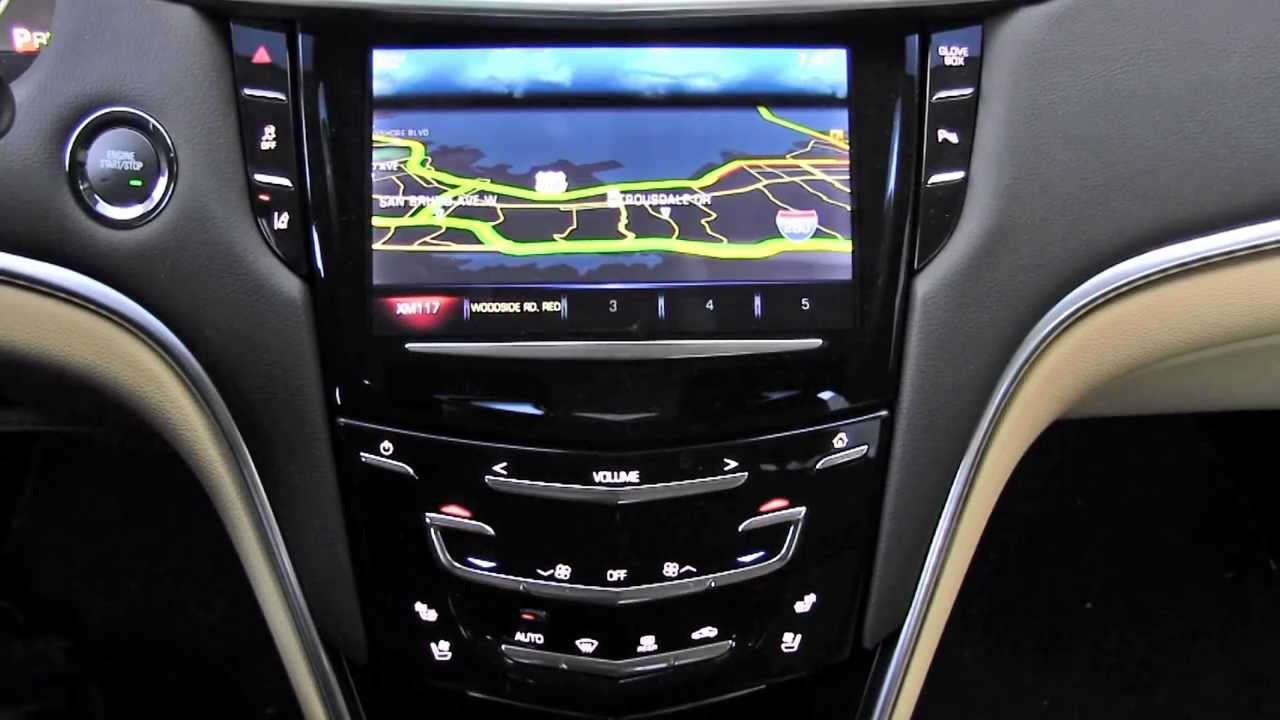 Cadillac Cue Cadillac User Experience Infotainment