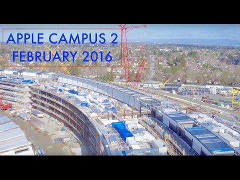 el nuevo campus de apple toma forma