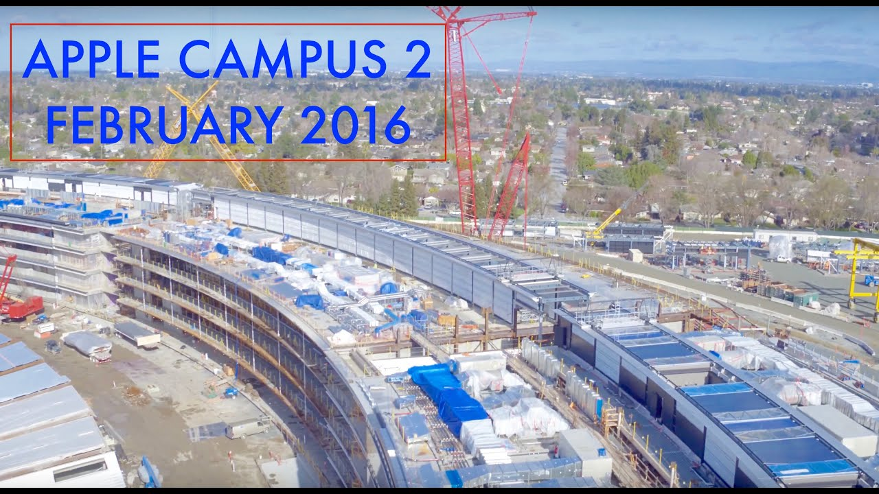 new apple office cupertino. Apple Campus 2 February 2016 Update New Office Cupertino