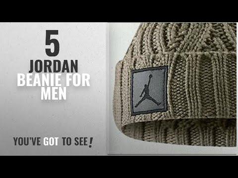 ed1b695af6d Top 10 Jordan Beanie  2018    Jordan Khaki Jumpman Pom Beanie (OSFA)