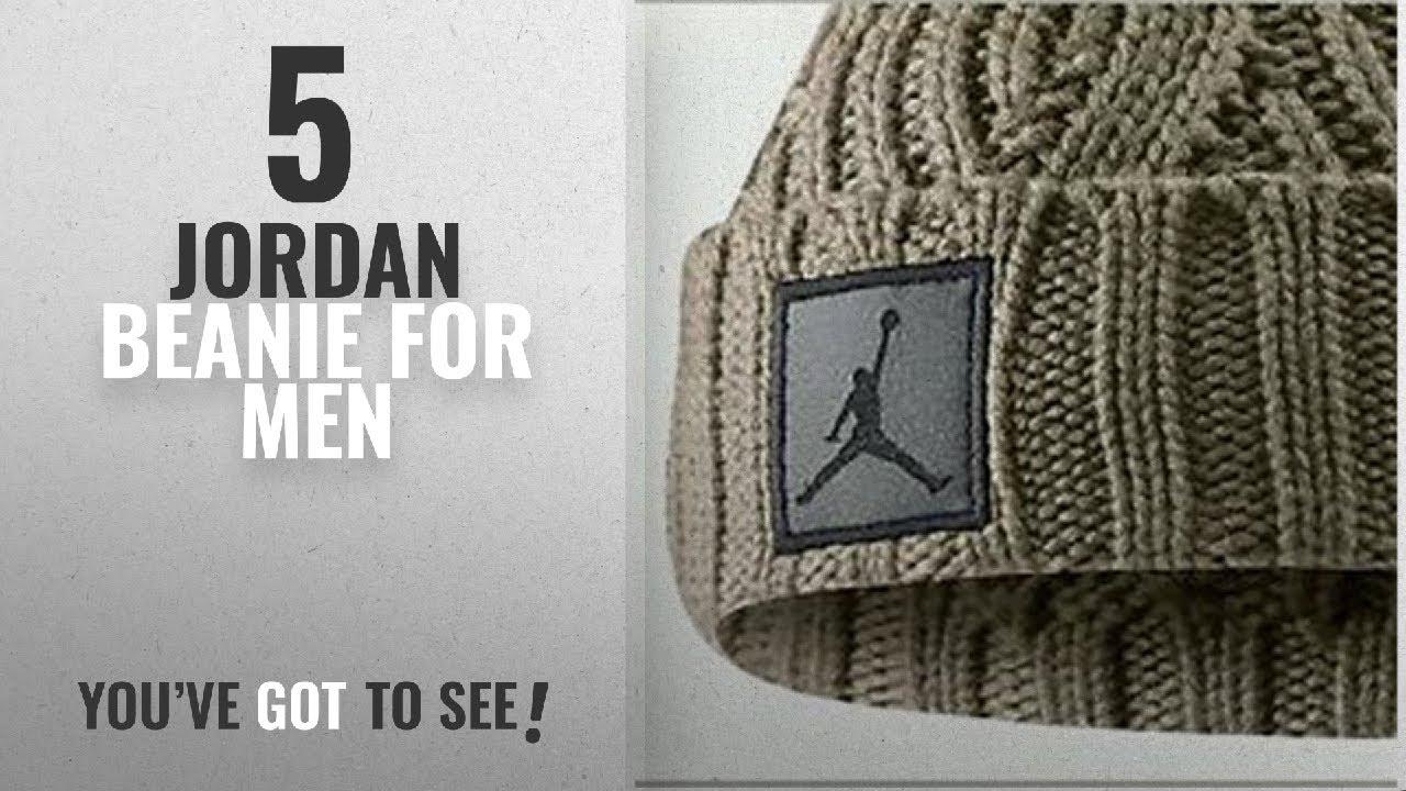 Top 10 Jordan Beanie  2018    Jordan Khaki Jumpman Pom Beanie (OSFA ... eaf5da77977