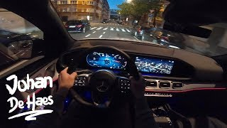 NIGHT POV TEST DRIVE Mercedes GLE 300 d 4MATIC