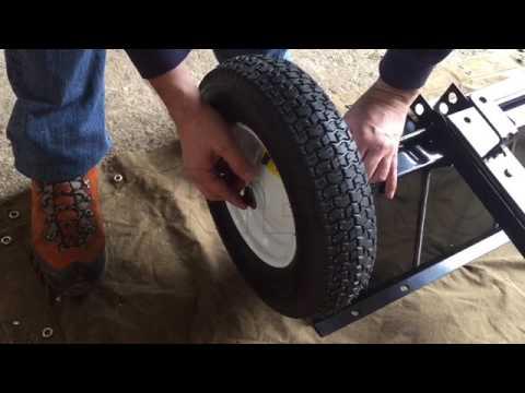 Carrello Da Giardino Usato : Come montare carrello polifunzionale ribaltabile geotech lb