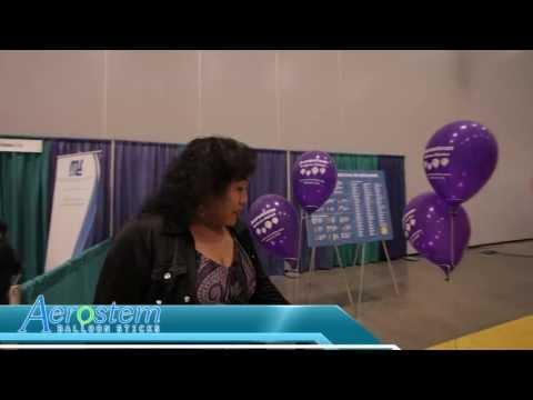 Aerostem Balloon Sticks Trade Show VA Beach