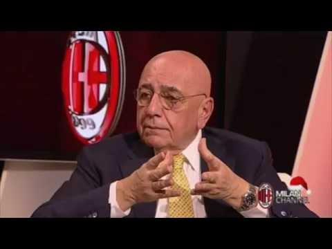 Galliani racconta l'arrivo di Bonaventura