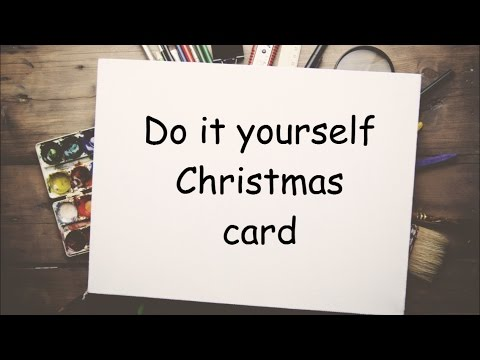Craft ideas diy christmas cards youtube craft ideas diy christmas cards solutioingenieria Gallery