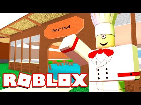 WELCOME TO ROBLOX PLANET FOOD!   MicroGuardian (Restaurant Tycoon)