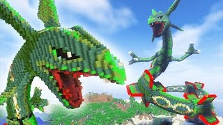 Minecraft vs Pokemon Go vs Plants Vs Zombies | GIGA Legendary Rayquaza!
