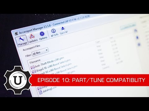 COBB Tuning - COBB University Episode #10 - Part/Tune Compatibility