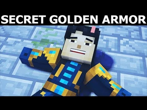 How To Find Secret Golden Armor Minecraft Story Mode Season 2