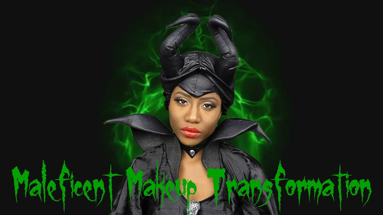 Maleficent halloween makeup transformation jasmine rose youtube baditri Gallery