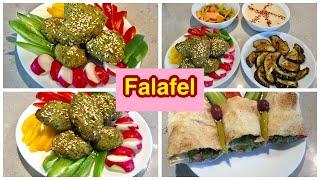 الفلافل الصحيه من غير قلي ولا زيت بطريقه صحيه  How To Make Falafel