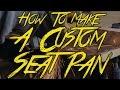 How To Make A Motorcycle Seat Pan!  -- Kawasaki KZ250 Build