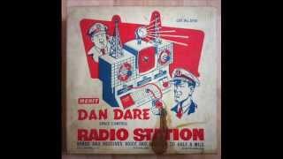 Dan Dare space control radio station