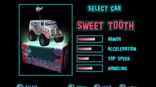 Twisted Metal Small Brawl-Sweet Tooth