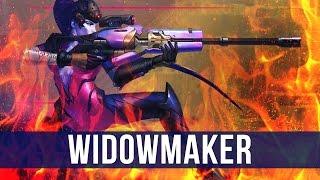 Overwatch: One Shot, One Kill! (Widowmaker Gameplay)