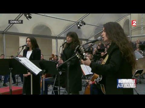 Hommage National /  «Quand on n'a  que l'amour» Ceremonie Aux Invalides