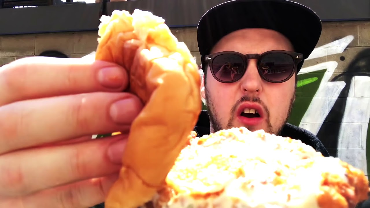 Rudy Burger Mukbang Review Out And About In Toronto