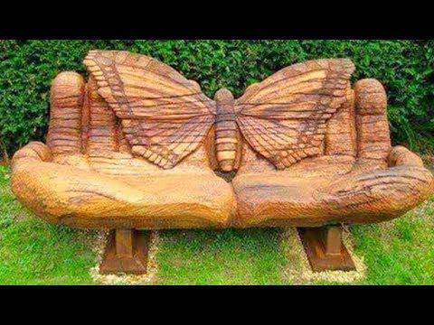 100 WOOD Design Creative Ideas - 2017 - Wood Log Pallet Furniture and DIY No.1