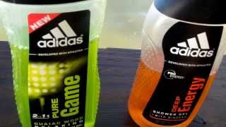 Adidas Pure Game & Deep Energy - Shower Gel Review