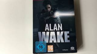 Alan Wake Collectors Edition PC Unboxing  | Lucario19981
