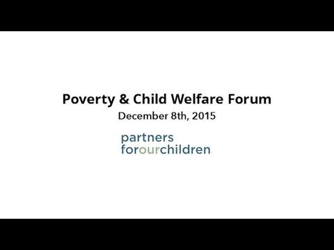 POC Poverty & Child Welfare Forum