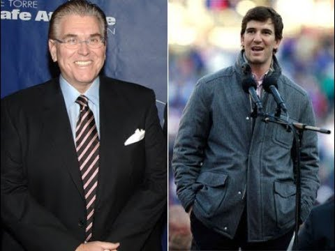 Mike Francesa with Eli Manning on the 1-7 Giants WFAN