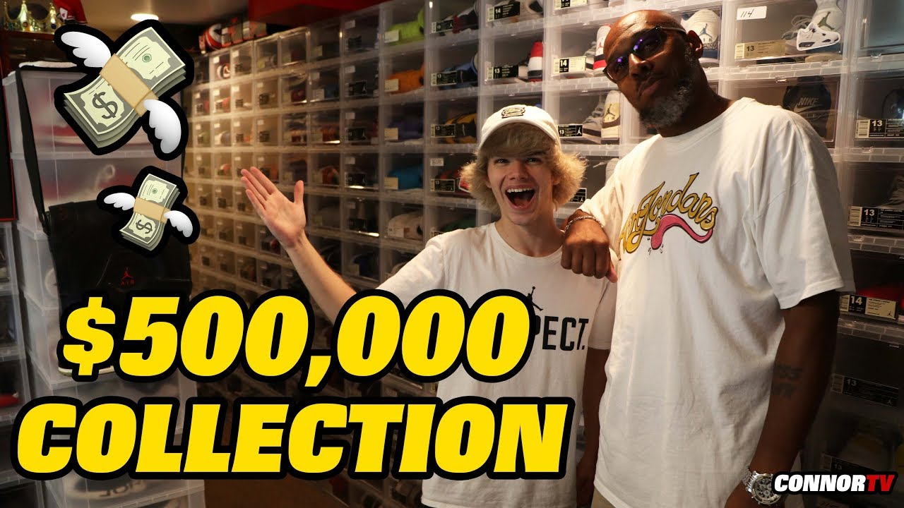 $500,000 Entire Sneaker Collection