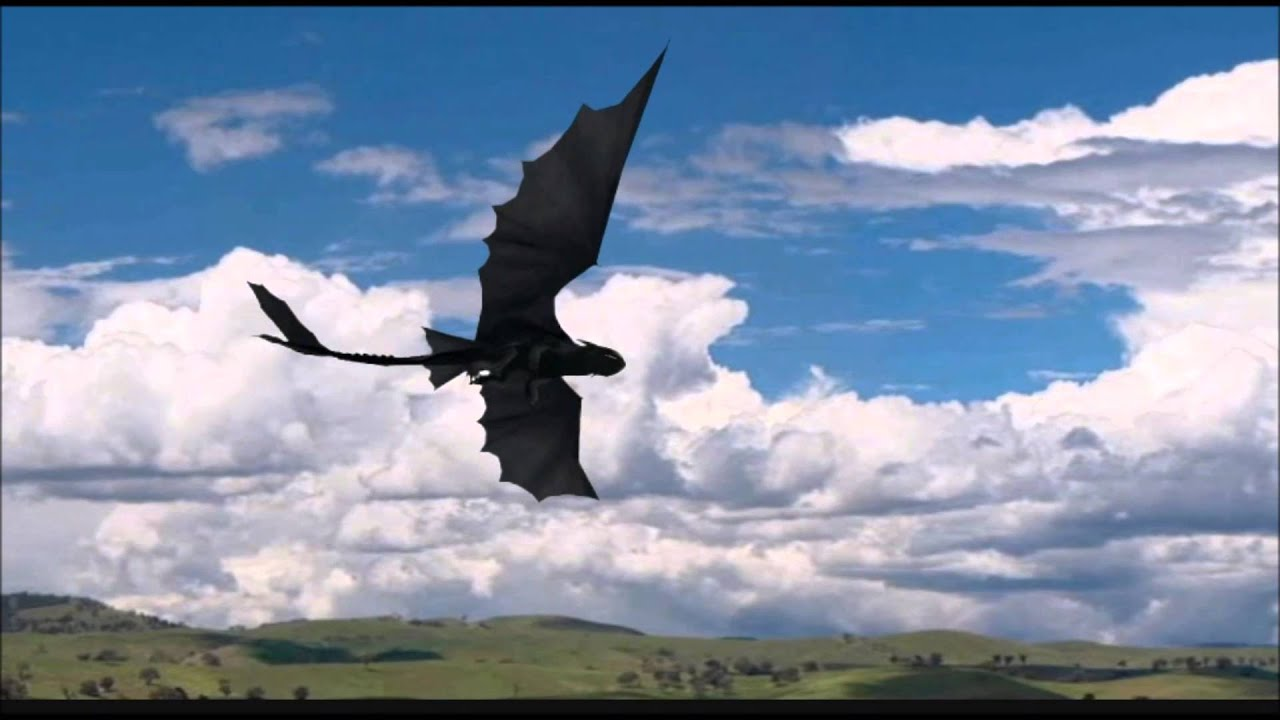 MMD Toothless flying test  YouTube