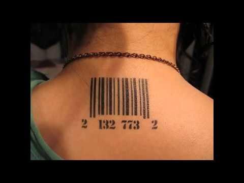 a2b89ea6d Barcode Tattoo Designs - YouTube