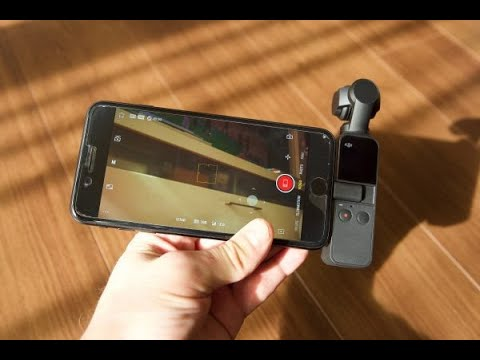 DJI Osmo Pocket Hands-on Review - YouTube