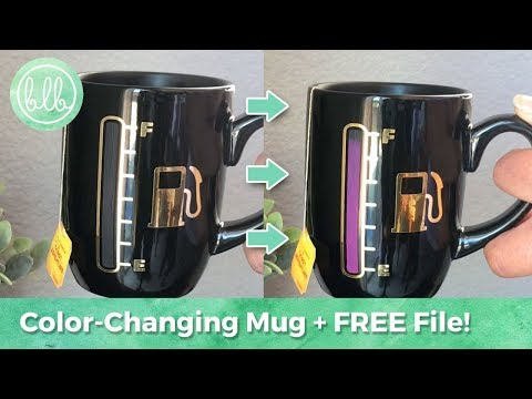 Color Changing Mugs With Cricut And Silhouette Cameo Using Thermochromic Pigment