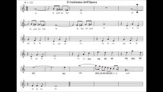 Fantasma dell'Opera - The Phantom of the opera - Base - Karaoke