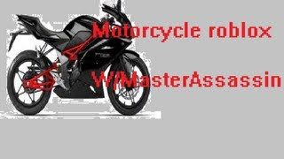 roblox motorcycle game