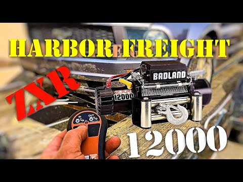 Harbor Freight 1200lb Winch / Towing of Vehicle