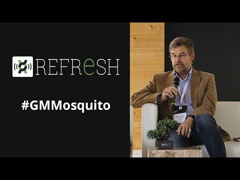 Synbio: Genetically modified mosquitos against diseases - Hadyn Parry, Oxitec's CEO