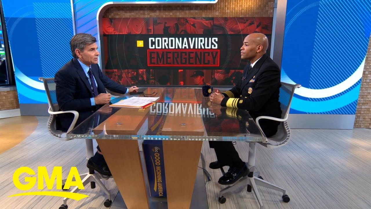 Surgeon general issues coronavirus warning: 'This week, it's going ...