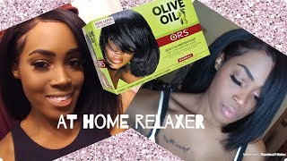 NATURAL TO RELAXED: At Home Relaxer Routine