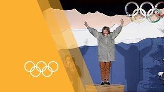 Olympics: Pernilla Wiberg -