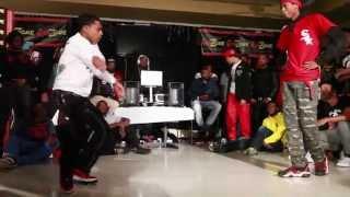 Lil Deka and Kay Jay - Dance Battle - WarZone