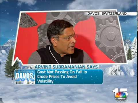 WEF 2015: Why is govt controlling oil price with excise duties? tells Chief Eco Advisor