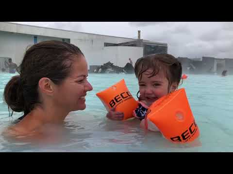 Day 4: Reykjavík, Blue Lagoon, and Trampoline Park in Iceland with Four Kids