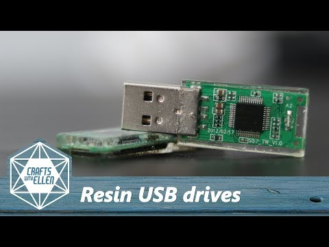 Making a resin USB drive