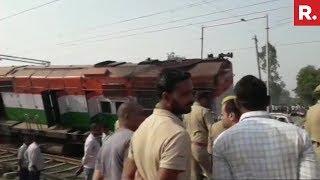 6 Coaches Of New Farakka Express Train Derailed In Raebareli