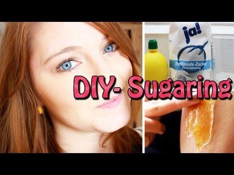 Schamhaarentfernung Zuckerpaste