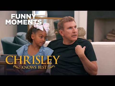 Chrisley Knows Best   Chloe Convinces Todd To Go Camping   Funny Moment   S7 Ep19   on USA Network