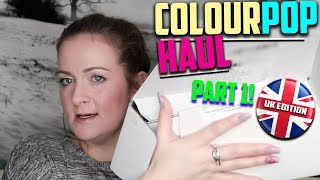 BUYING COLOURPOP IN UK? Colour Pop Haul | Uk Shipping Prices - Part 1 (2018) | Claire Tutorials