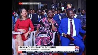 Ghana-Oracle Digital Enterprise – News Desk on JoyNews (4-4-19)