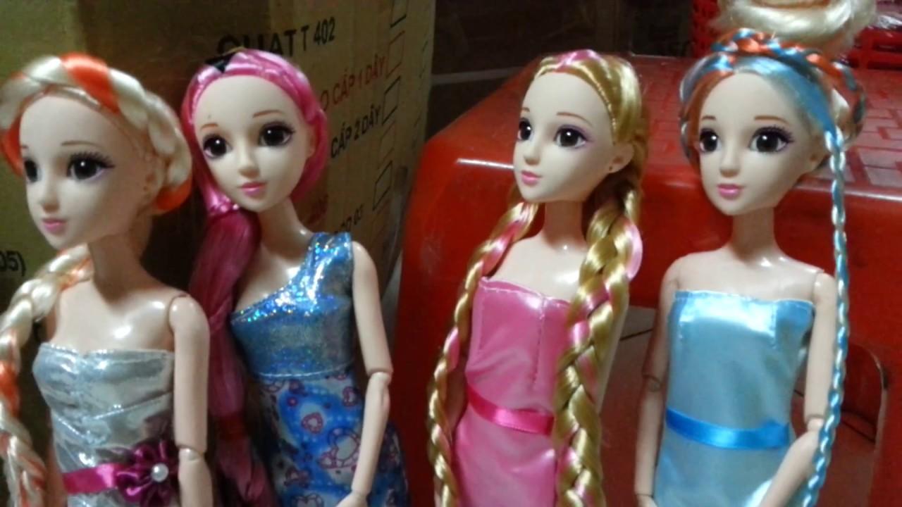 Tham khảo 6 kiểu tóc búp bê mới: Tóc nơ, tóc hoàng hậu, tóc hoa hồng, tóc vành khăn