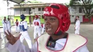 En Vigía del Fuerte el Taekwondo pega duro